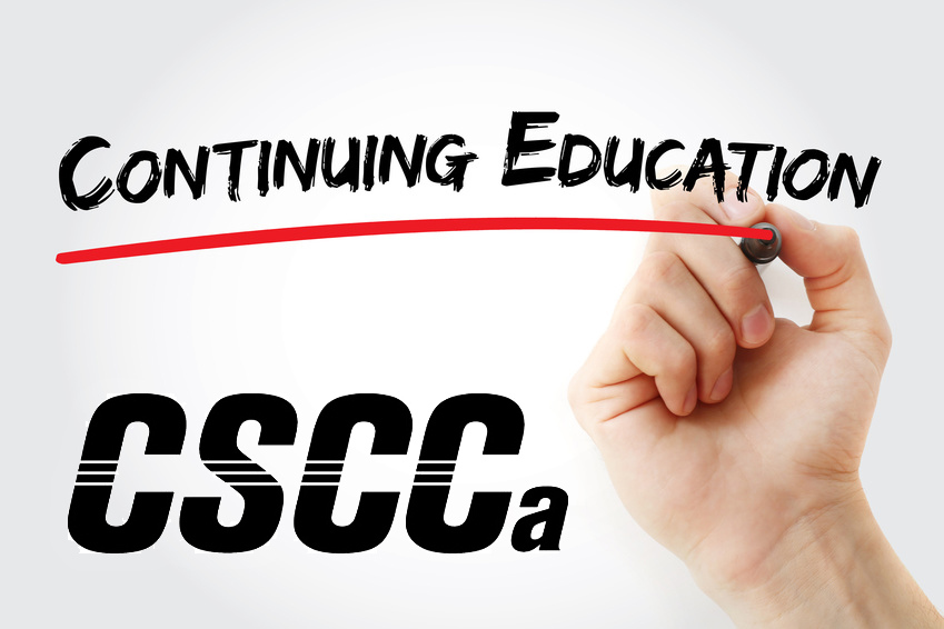 Important Cscca Reminders For September 2017 Cscca Monthly
